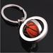 Football Keychain Basketball Keychain Souvenir Pendant Creative Gift C