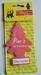 Cotton paper auto air freshener, promtional gifts