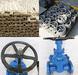 Soft sealing Non-rising gate valve flange ends DN50-600