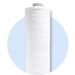 High flow string wound filter cartridges