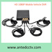 HD 1080p mobile dvr vehicle CCTV digital video recorder with GPS