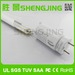 Chinese factory UL listed T8 led tube with 100LM/W and RA>80 SMD2835
