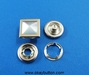Wal-mart supplier of garment metal button/metal snap