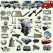 Selling CHANA/DFM/HAFEI/SAIC WULING N300/N200 complete auto parts