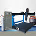 Numerical control plasma abrasion proof melt and spread machine tool