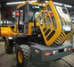 2013 new style 2 ton wheel loader920 with Cummins engine and logs fork