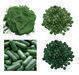 Softgel capsule and spirulina, Chlorella, Ginseng, Silica gel desiccant