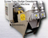 Dewatering machine for organic wastes/sludge/cow dung/poultry dung