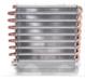 Industrial Al Fins and Copper Tube AC Condenser Refrigeration
