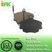 425041 GDB807 D292 Semi-metallic/Low-metallic/NAO/Ceramic Disc brake p