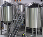 500L beer brewing equipment with mash tun and fermentation tank