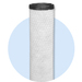 H series rubber cap carbon filters   carbon block for industrial use