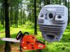 Garden tool - chainsaw/brushcutter parts - cylinder