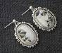 Sterling Silver White Buffalo Turquoise Necklace Set