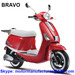 BRAVO Scooter JNEN Motor Patent Design 2016 Model Gasoline Scooter 50