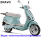 BRAVO Scooter JNEN Motor Patent Design 2016 Model Gasoline Scooter 50