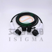 Black 32A iec62196 electric car tuv ev charging extension cable