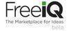 FreeiQ The Marketplace For Ideas