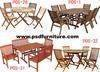 Outdoor furniture garden table