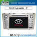 TOYOTA double dins indash Camry AOK-T705/T802