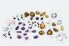Semi-precious gemstones