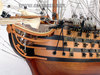 Wooden HMS VICTORY painted historic ship model