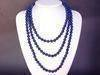 Necklace Lapis Lazuli 8mm Round Beads