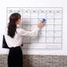 Custom Reusable Dry Erase Blank Wall Calendar Planner