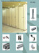 Toilet cubicle partition fittings