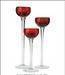 Glass Candle Holder, stemware, glass canister
