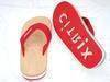 Sell Die-cut Logo Promotional Flip-flops Slippers