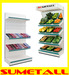 Gondola shelving from SuMetall (China) Shopfittings Ltd.