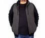 Big-Tall Men s Hooded Jacket Raglan Sleeve Zip-Down 18512