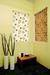 Printed roller blind fabric