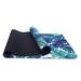 Custom print eco yoga mat non slip microfiber  yoga mat