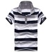 Men's Polo, Yarn Dyed or Printing Stripe