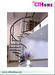 Wood Steel Stairs, Spiral Stairs, Modular Staircase, Staircase