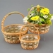 Willow baskets with handle
