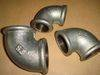 Galvanized malleable iron pipe fitting elbow