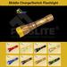 LED Middle Charging Flashlight/Middle Switch Flashlight -Flaslite