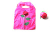 Strawberry reusable shopping bags