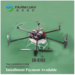 6-rotor agricultural aerial spraying drone/ map the route/ automatical