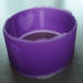Debossed Silicone bracelet/silicone rubber wide wristband