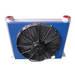 Aluminum plate heat exchanger, oil cooler for drill machniery