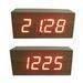 LED Wooden Clock