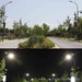 SOLAR LED street light 210W,23100lm, DC12-24V, AC100-277V