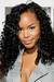 Full lace wig with fringe jet black hair color brazilian virgin hair 2