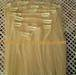 Pure luxury soft 100% human hair extension