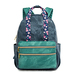 Durable Oil Wax Canvas Travel School Backpack For Women Girls