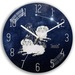 Cheap Modern Home Decoration 12 Constellations Round Wall Clock